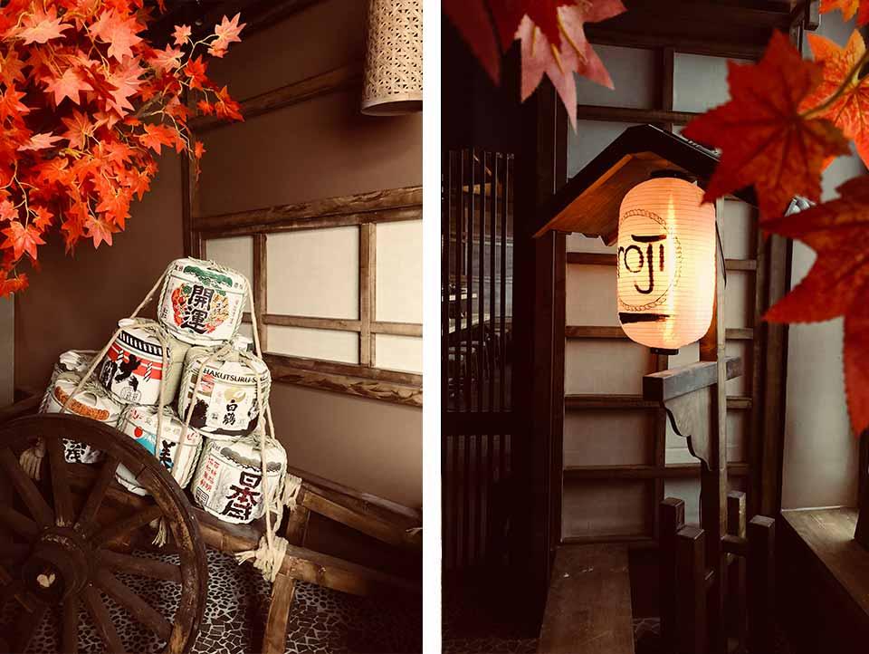 authentisch japanisches Ambiente