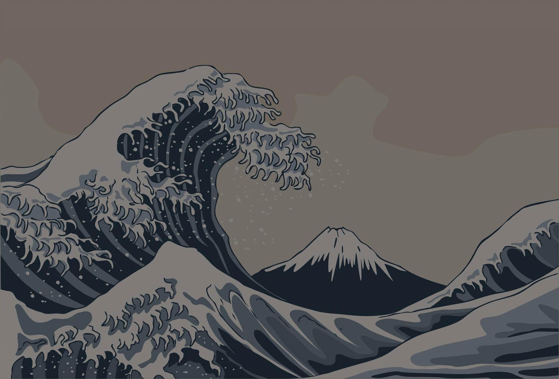 Roji - japanische Hintergrund