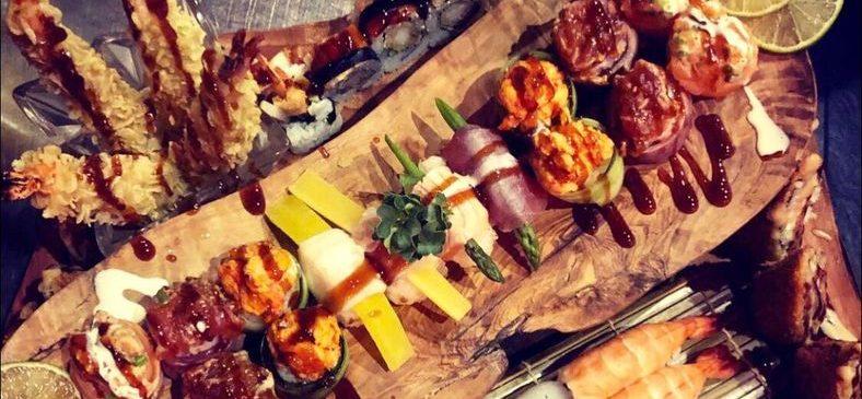 Die größte Sushi-Platte